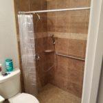 Tile Roll in Shower