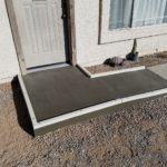 Concrete Wheel Chair Ramp