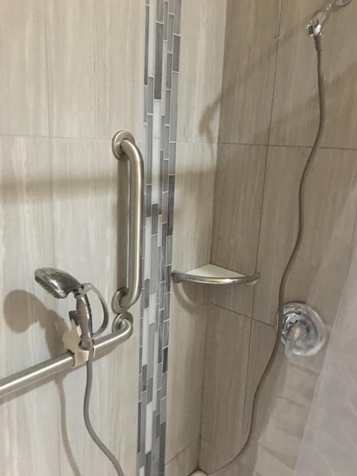 Custom Walk In Shower Installed in Phoenix