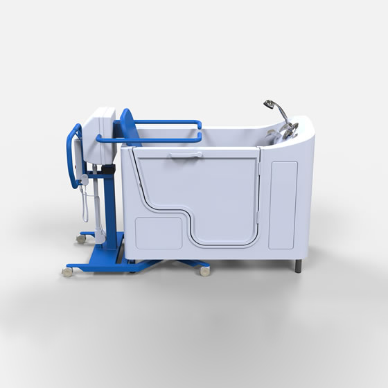 Hoist Transfer Wheelchair Tub