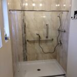 Phoenix Barrier Free Shower with Tile Surround